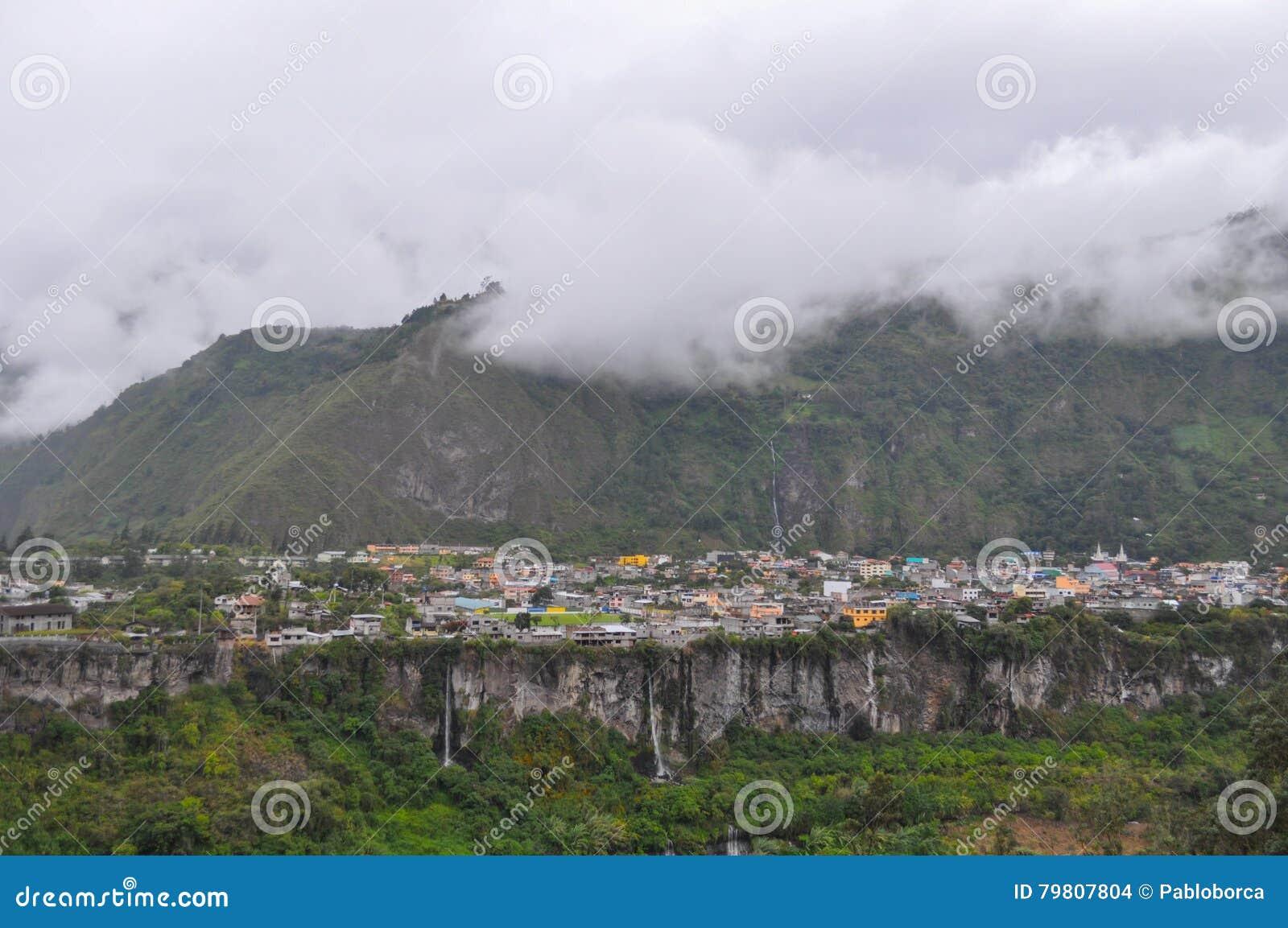 Baños de Agus Санта, эквадор