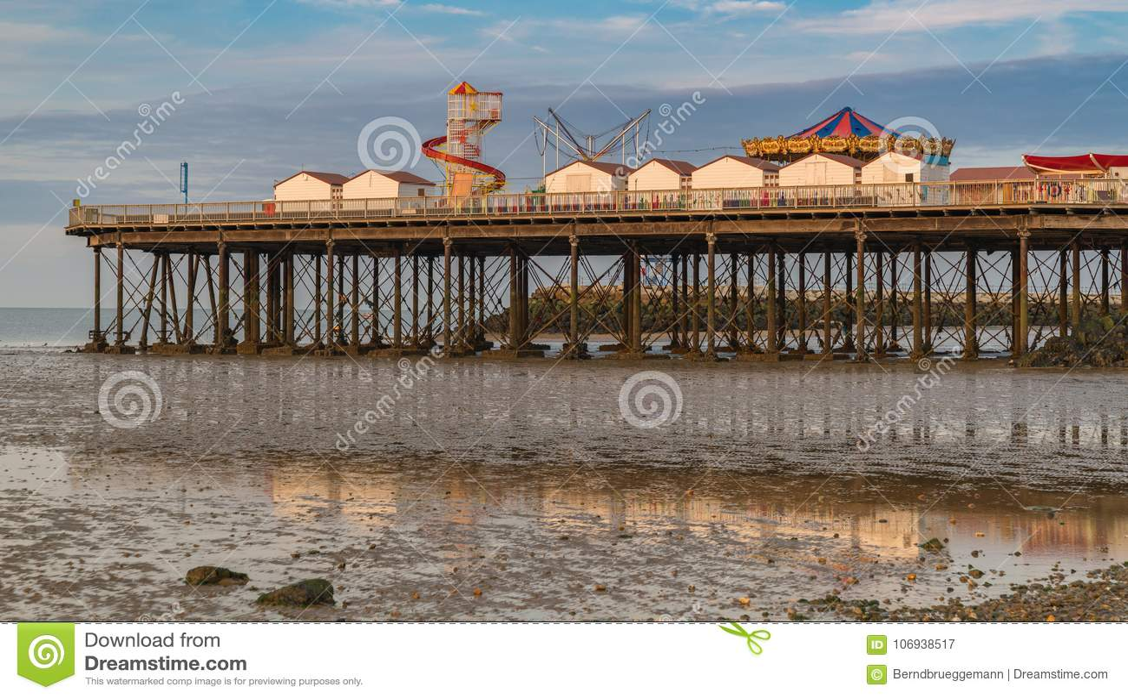Baía de Herne, Kent, Inglaterra, Reino Unido
