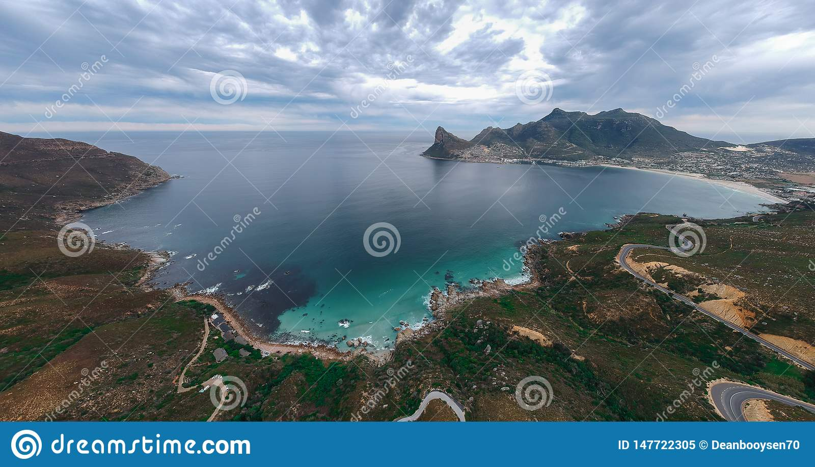 Baía de Hout, cabo ocidental, África do Sul
