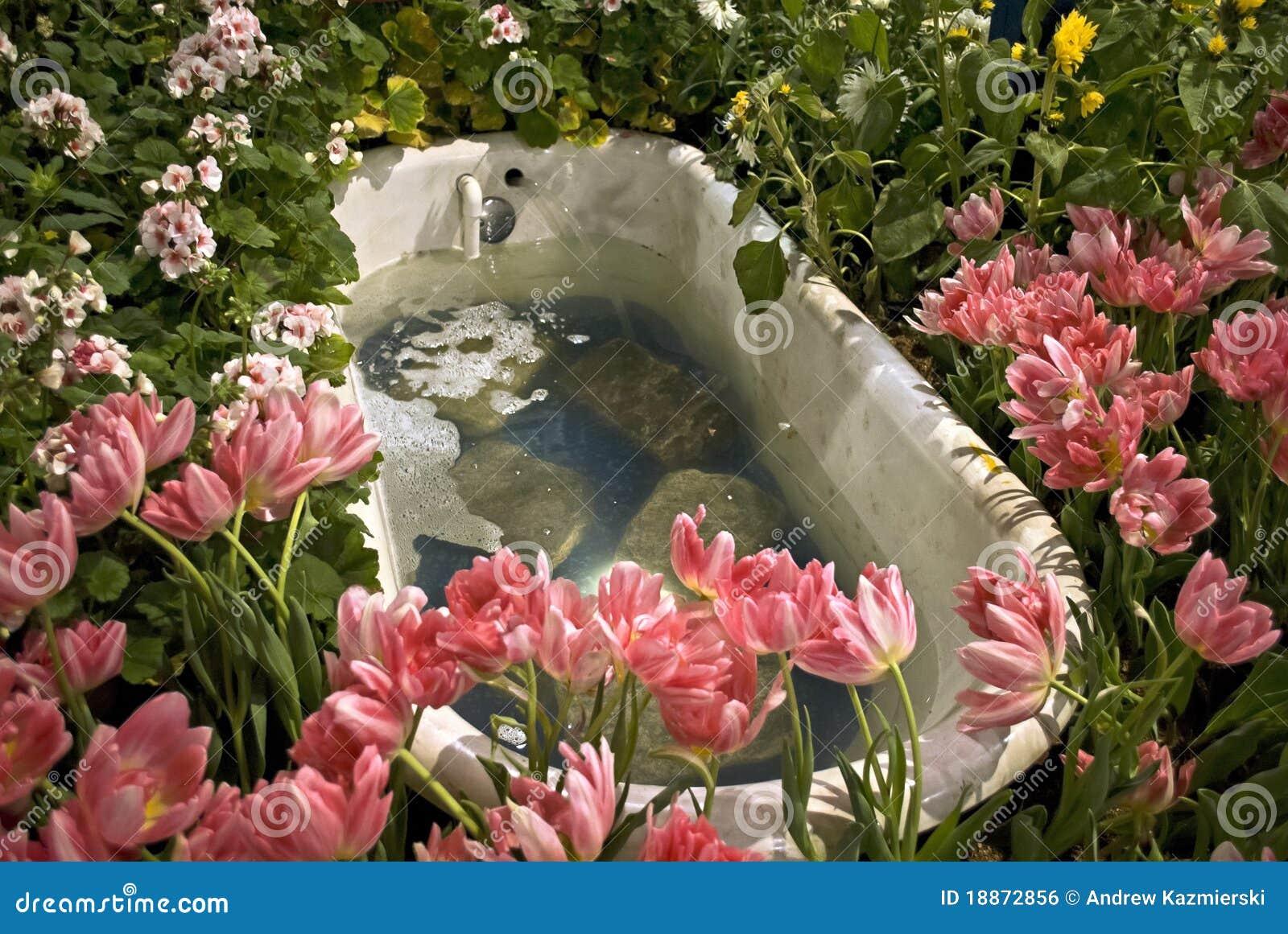 Bañera, demostración de flor de Philadelphia