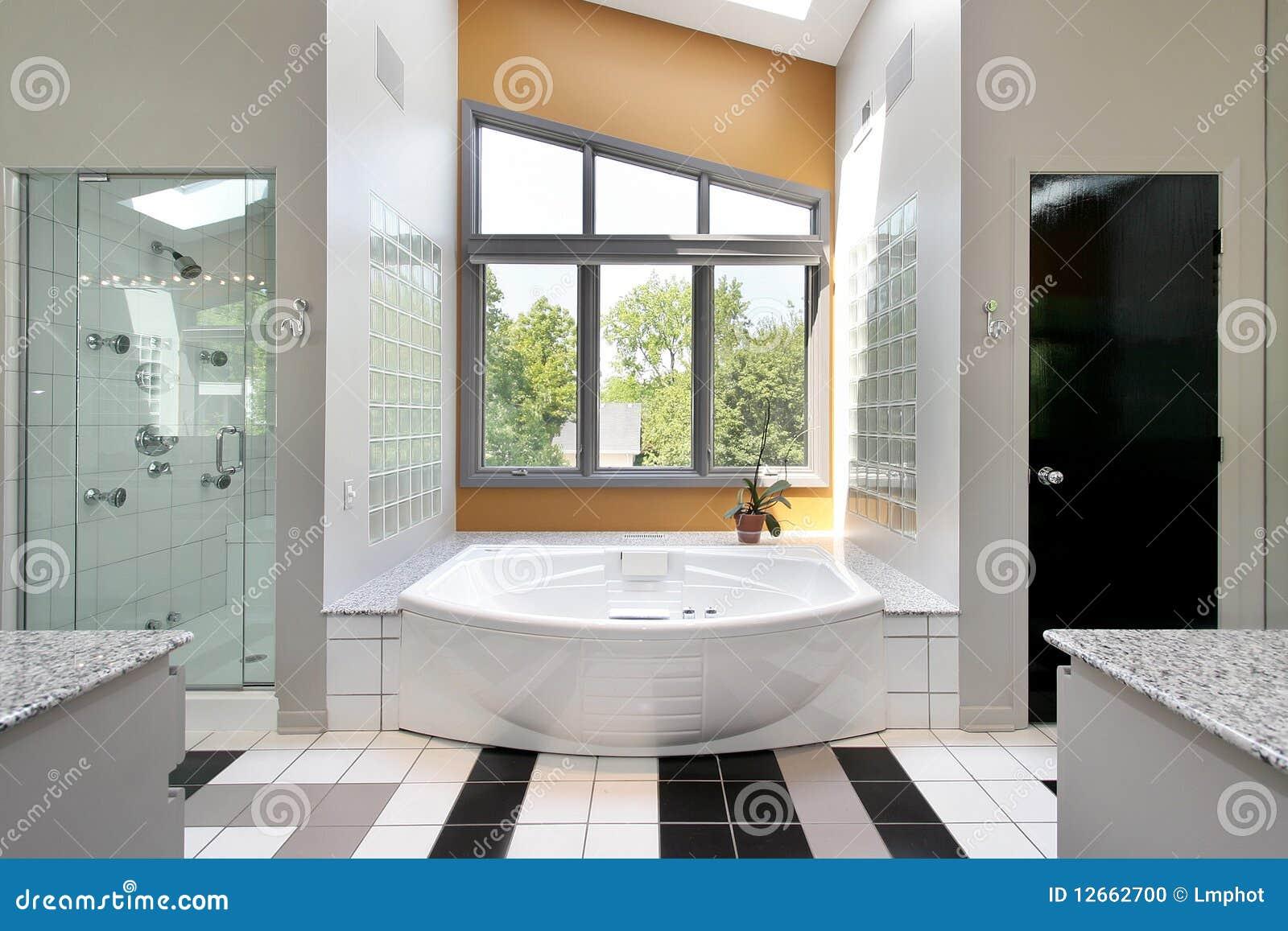Baños Residenciales Modernos:Modern Master Bathroom