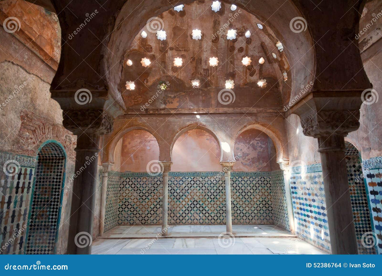 Amazing Baños árabes En Alhambra De Granada