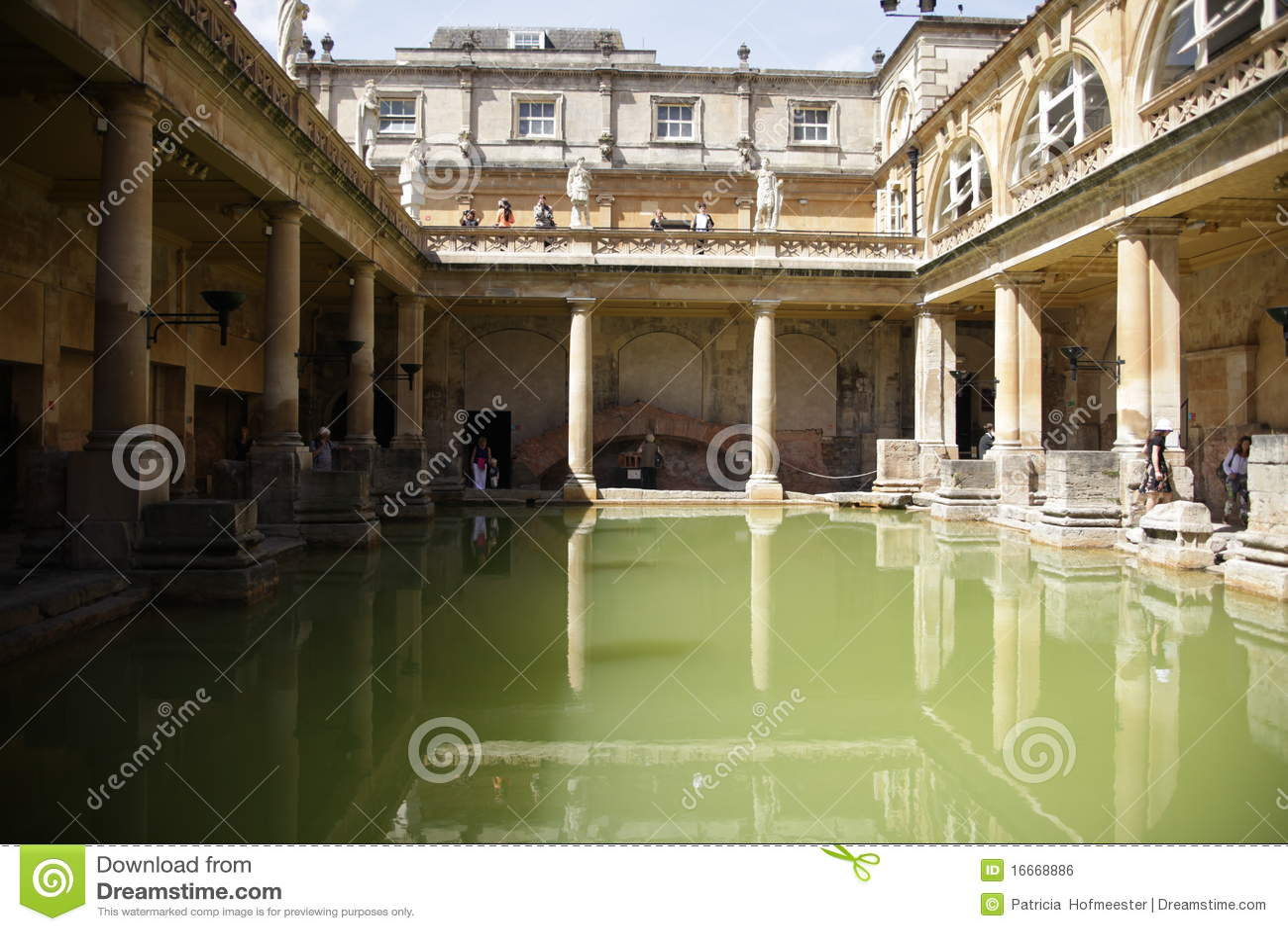 Baños Romanos Inglaterra:Patricia Hofmeester Roman Baths