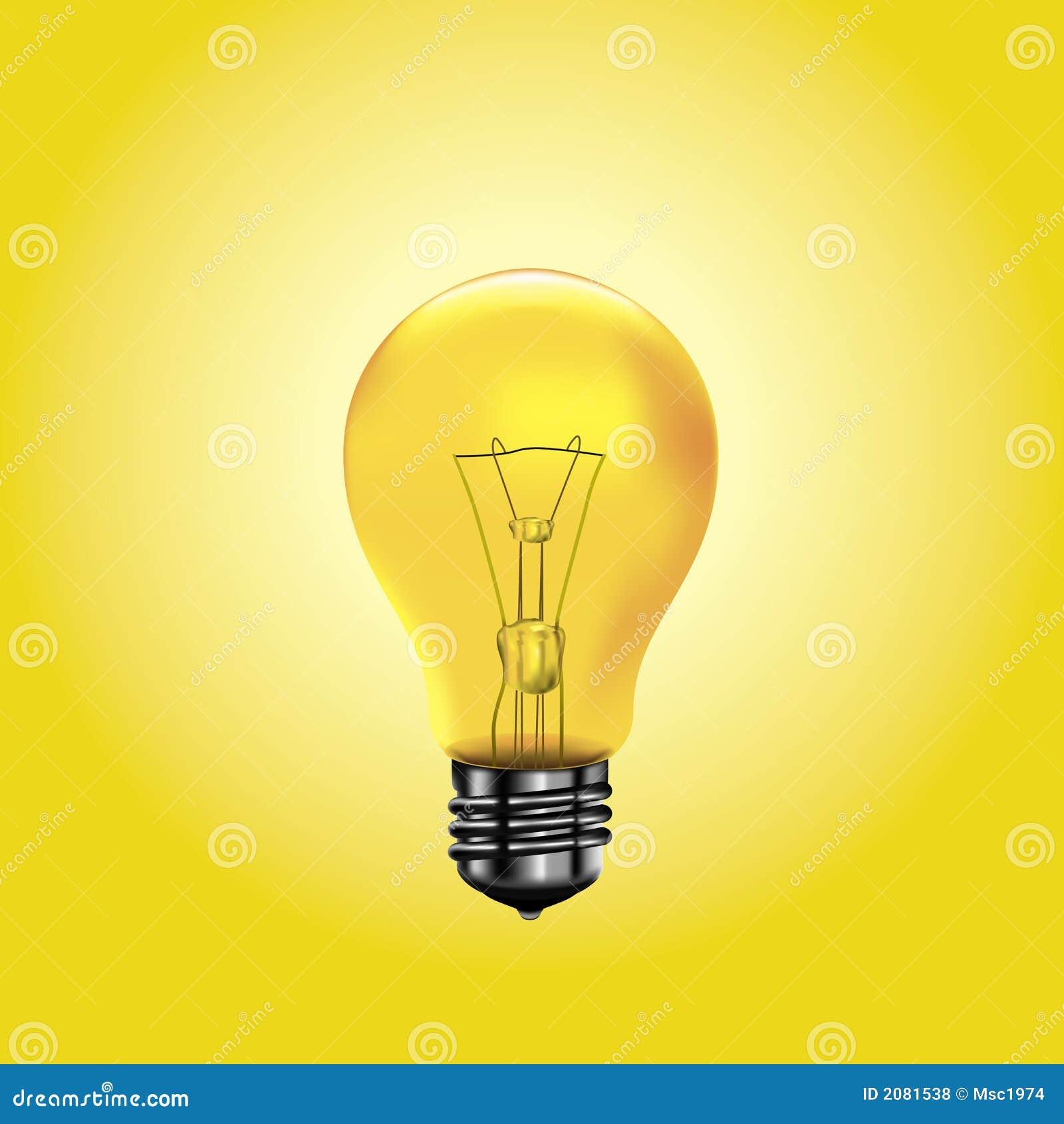 Bańka jasnożółta
