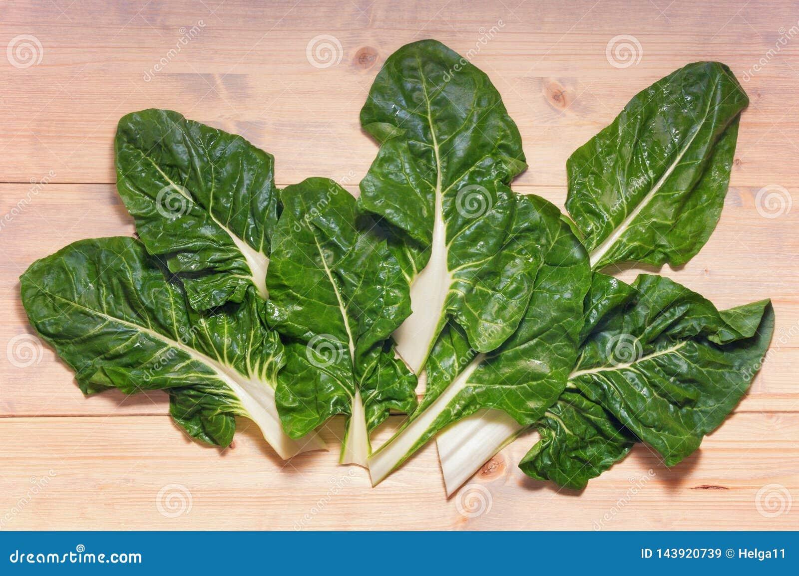 Ba?ka?ska kuchnia Blitva chard liście - popularni obfitolistni warzywa Bia?y nieociosany t?o, mieszkanie nieatutowy