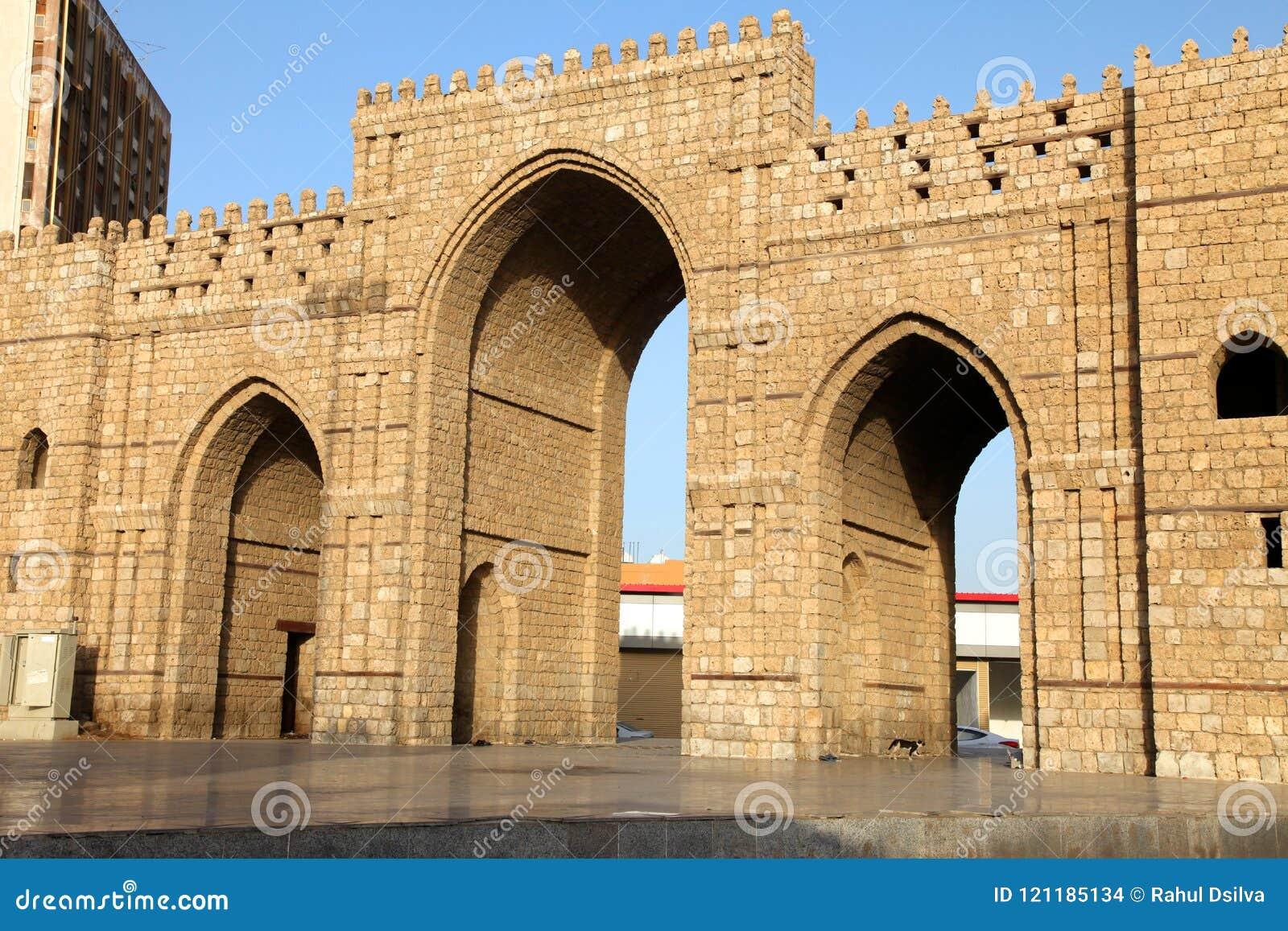 Baab-makkah Tor in historischem Platz Dschidda Saudi-Arabien Dschidda-Albalads
