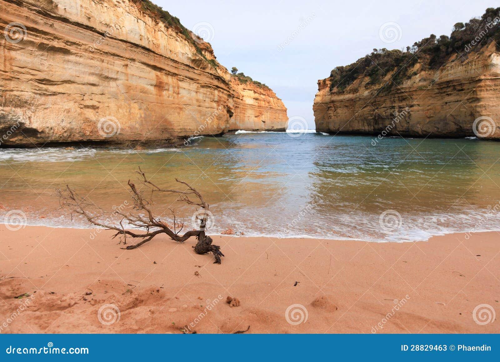 Baai langs de Grote OceaanWeg, Australië