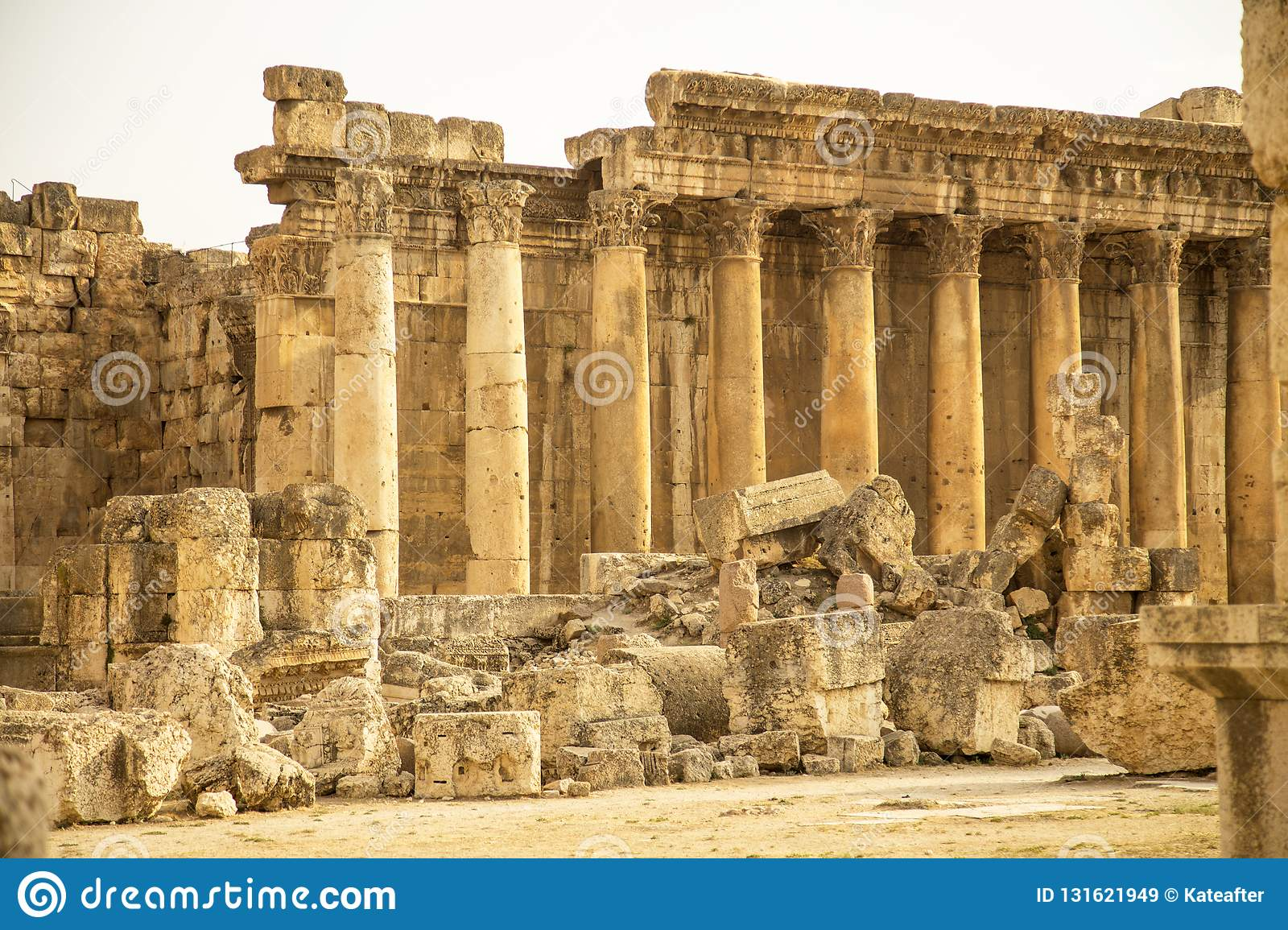 Baalbek, Bekaa Valley, Liban