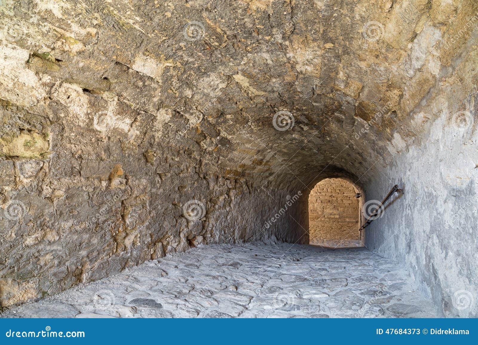 Baba Vida Fortress nach innen