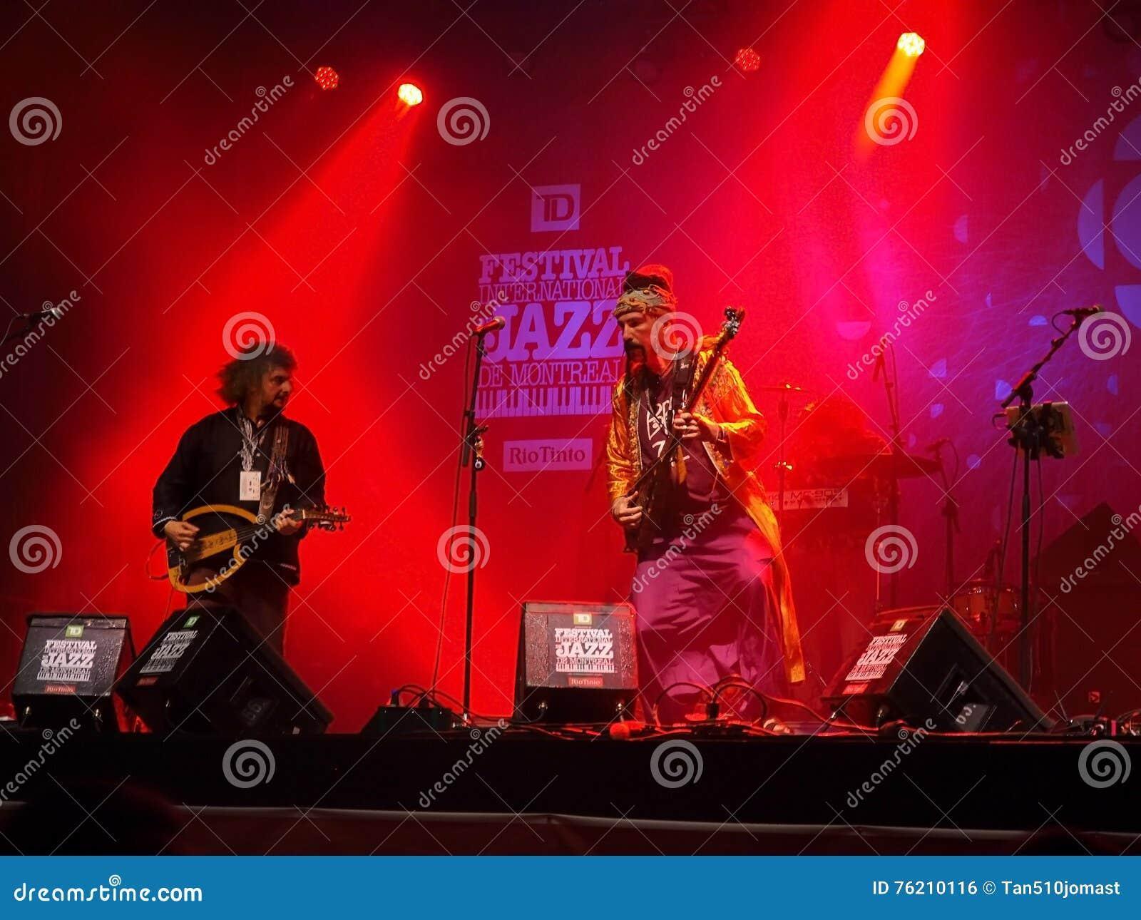 Baba Zula de concert