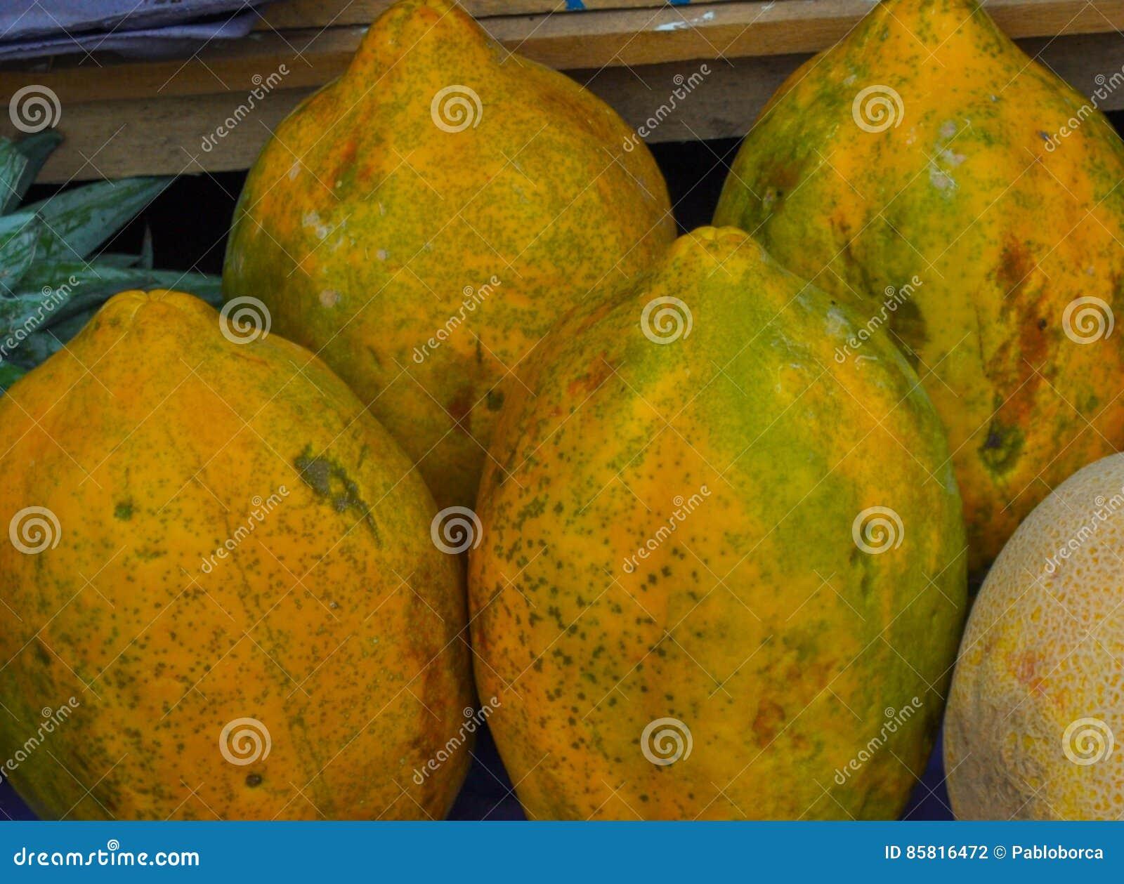 Babaco frukt