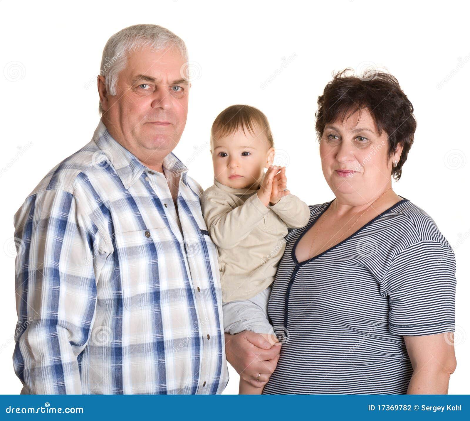 Babcia dziadek wnuk