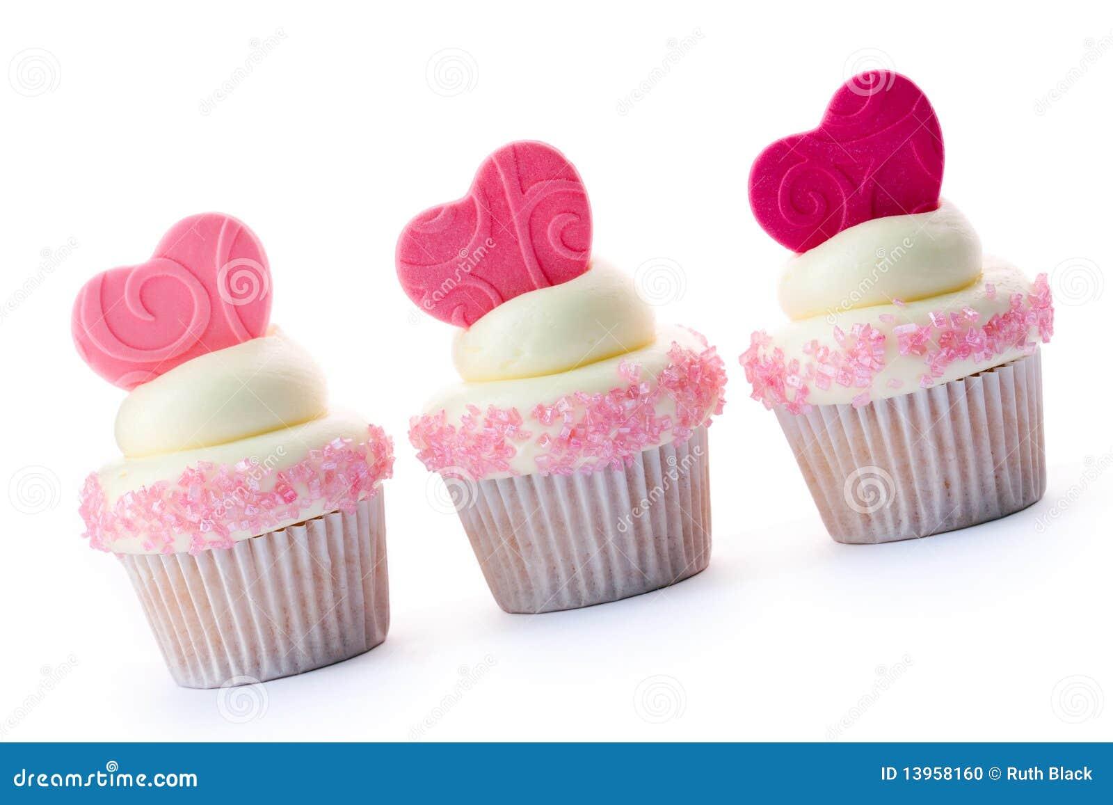Babeczki valentine