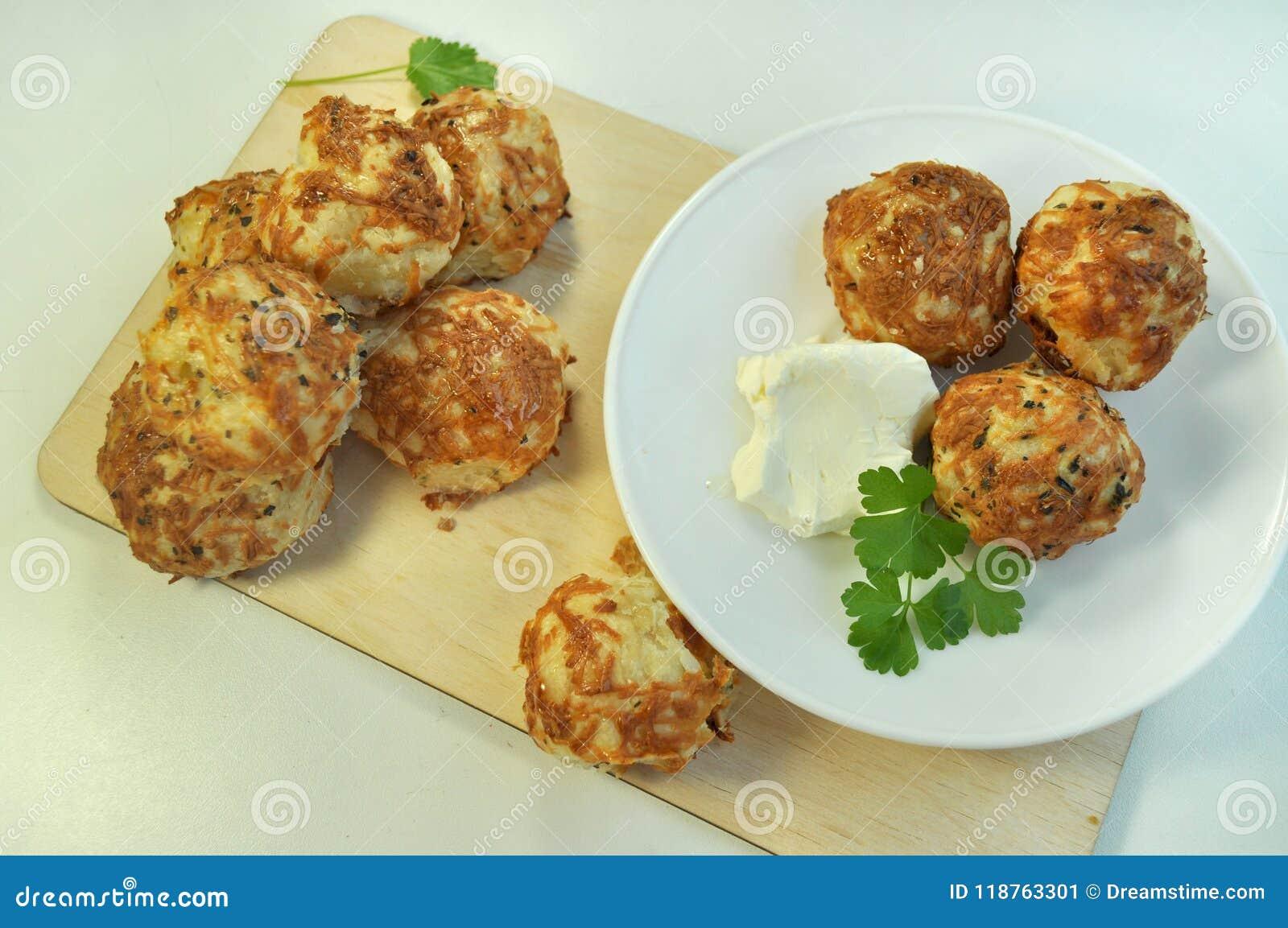 Babeczki z serowym cookery