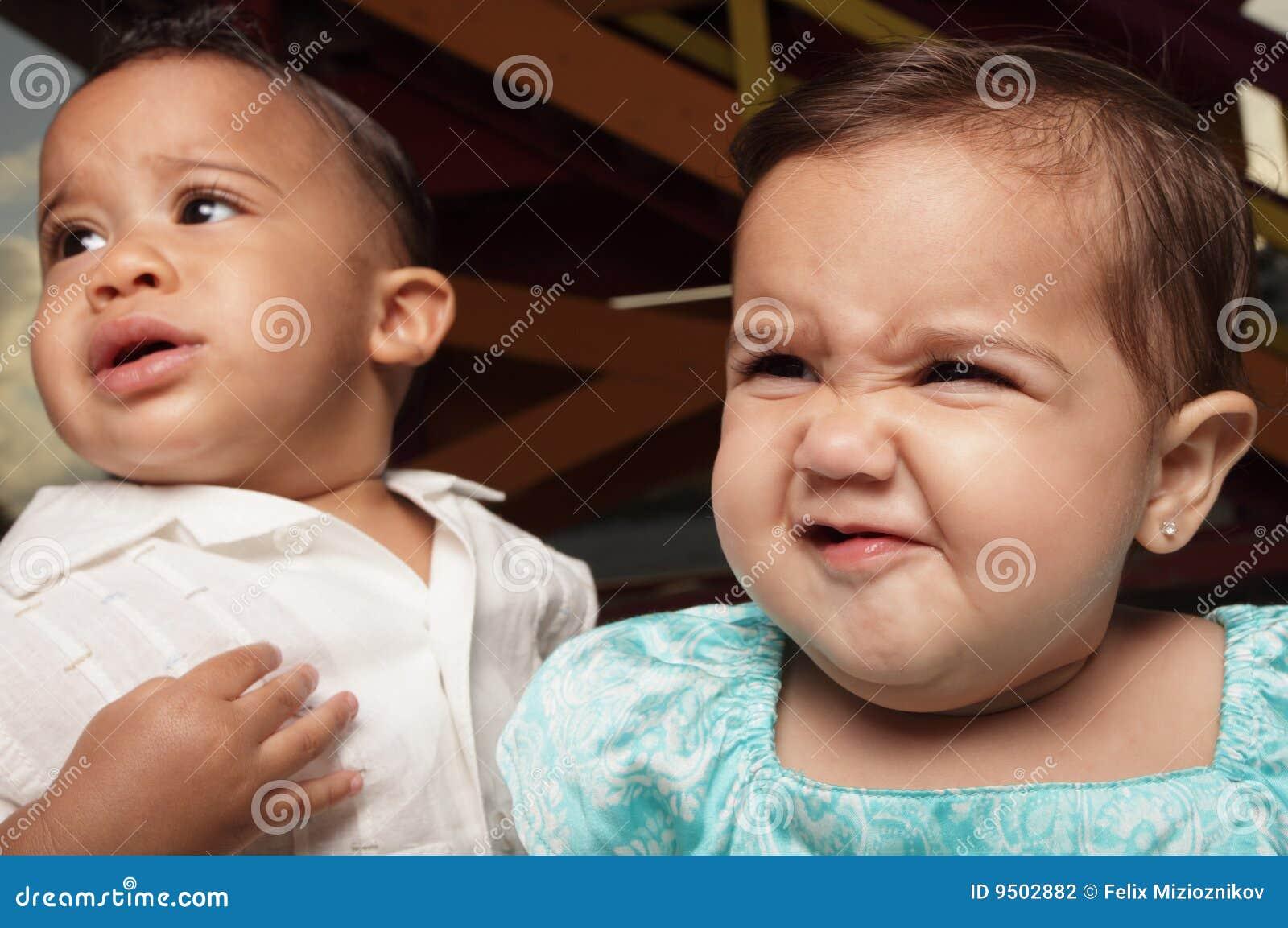 Babies facial expressions
