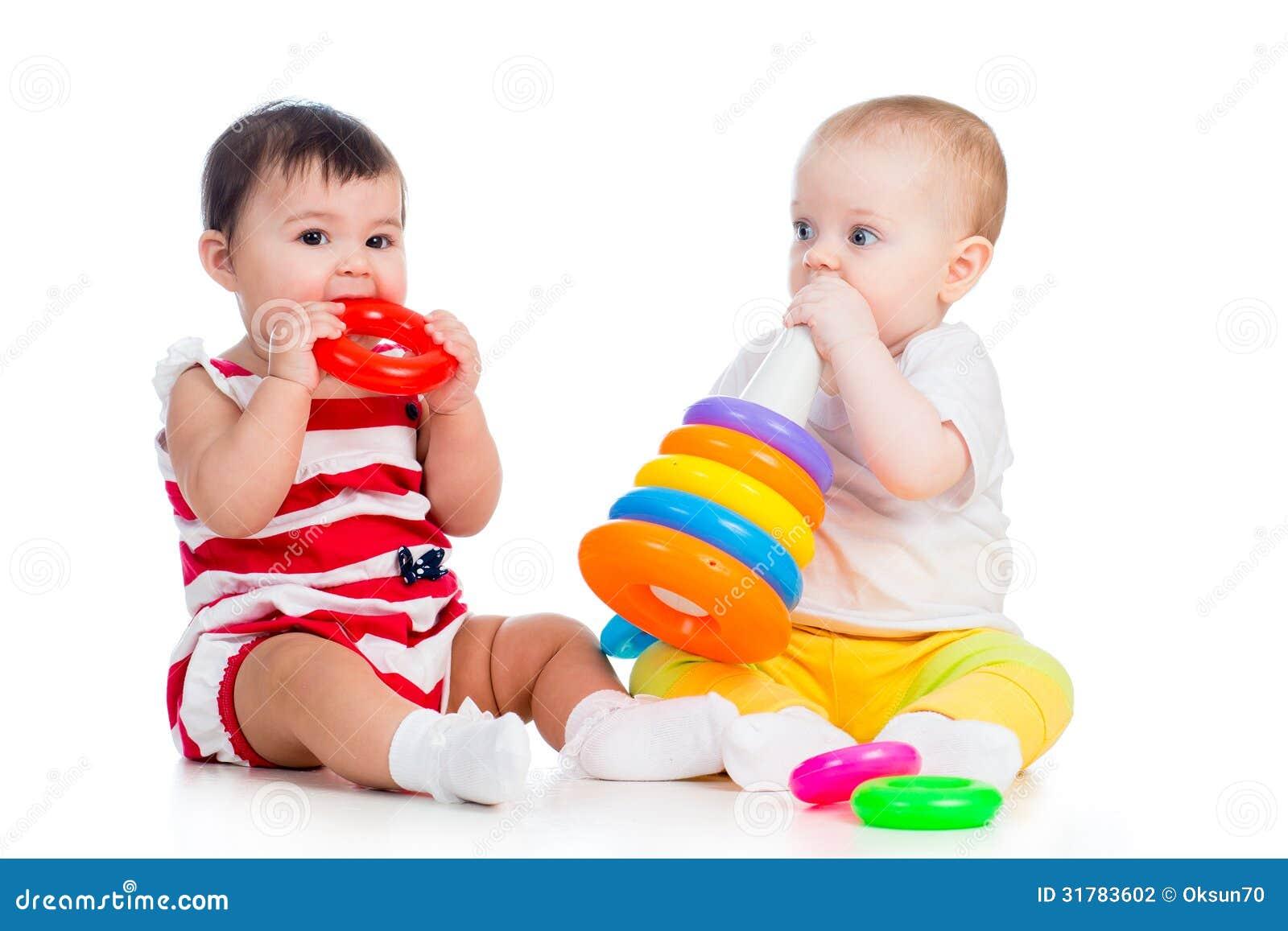 Babies Girls Playing Stock Photography Image 31783602