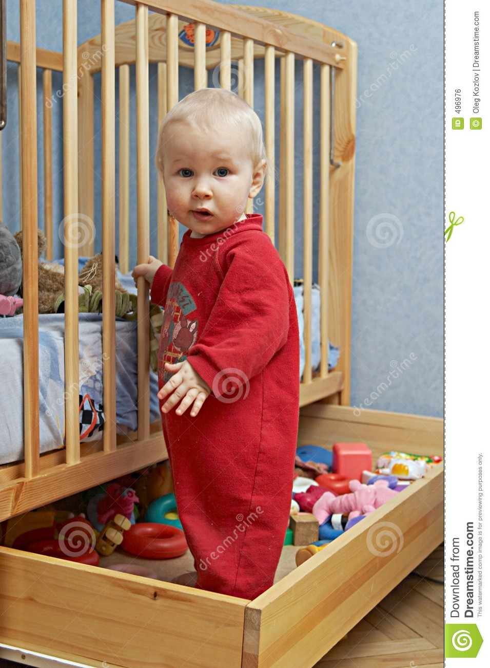 26fb2daf3e7a Babies and toys stock photo. Image of stand