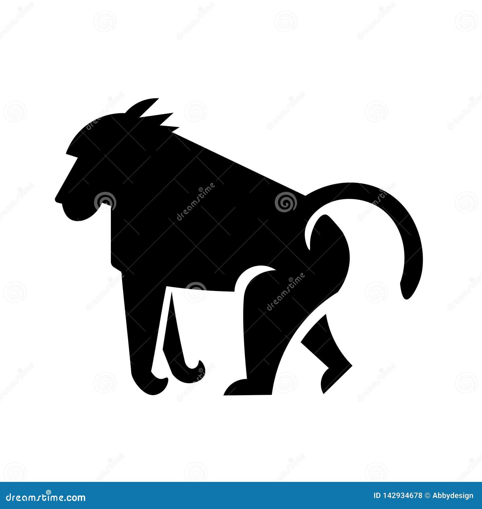 Baboon διάνυσμα εικονιδίων