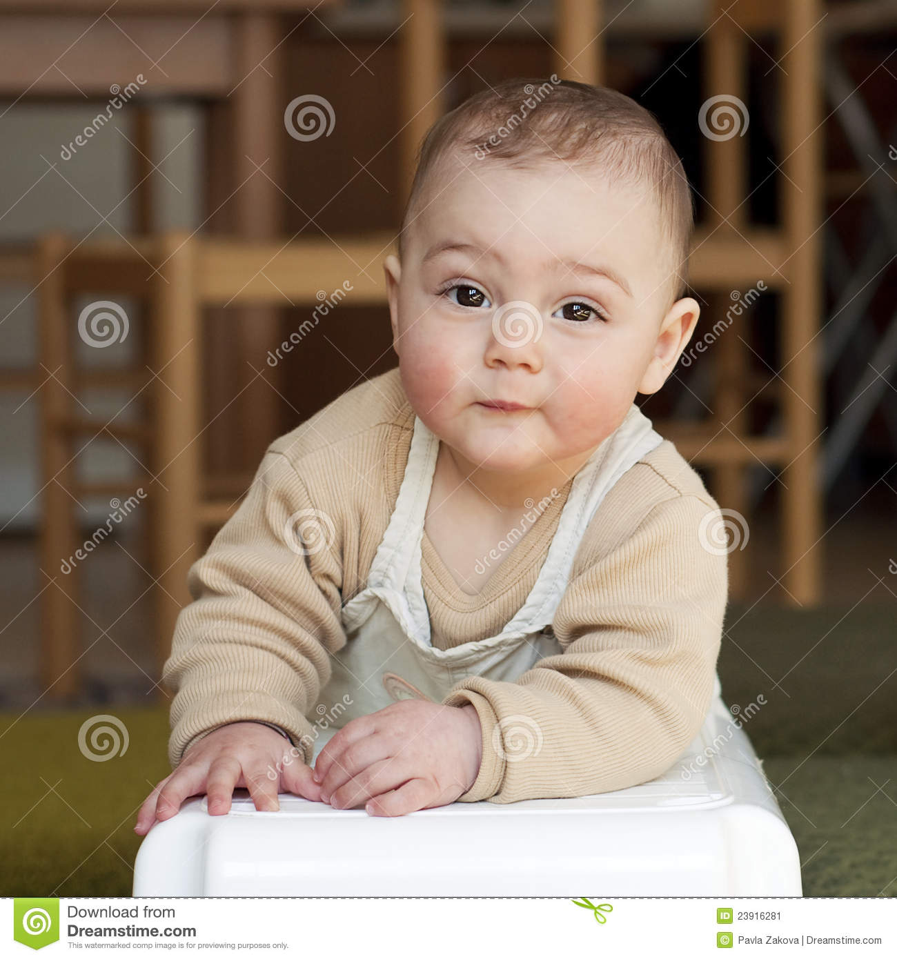 54cd35d99f84 Baby stock image. Image of smile