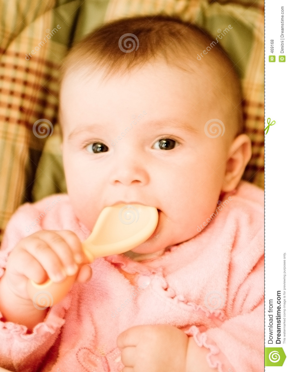 Download Baby stock photo. Image of health, spoon, youth, child - 469168