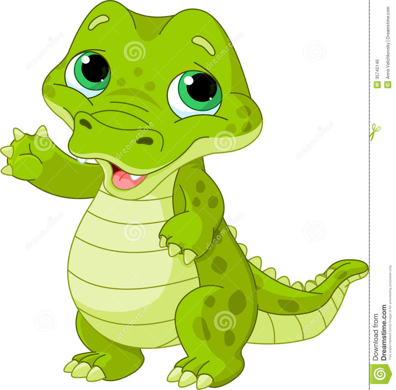 Baby Alligator Royalty Free Stock Image - Image: 35745146