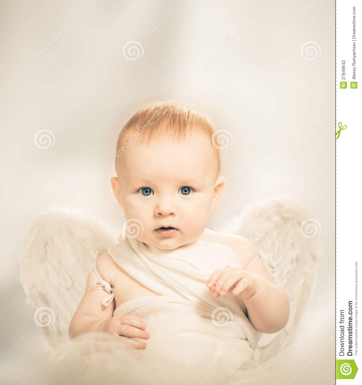 Baby Angel Stock Photography - Image: 27849642