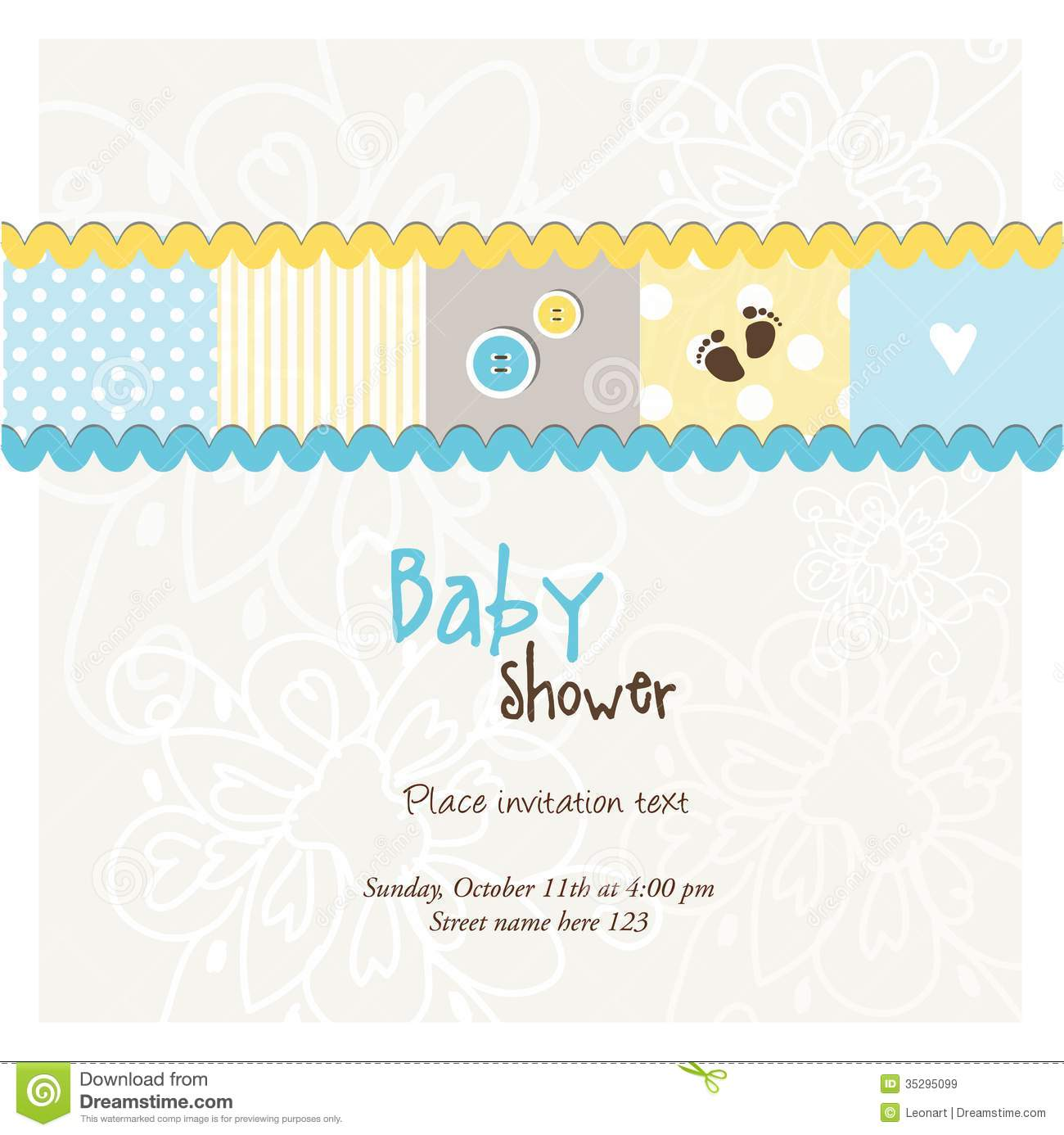 Baby arrival card baby shower card stock vector illustration of download baby arrival card baby shower card stock vector illustration of announcement flower m4hsunfo
