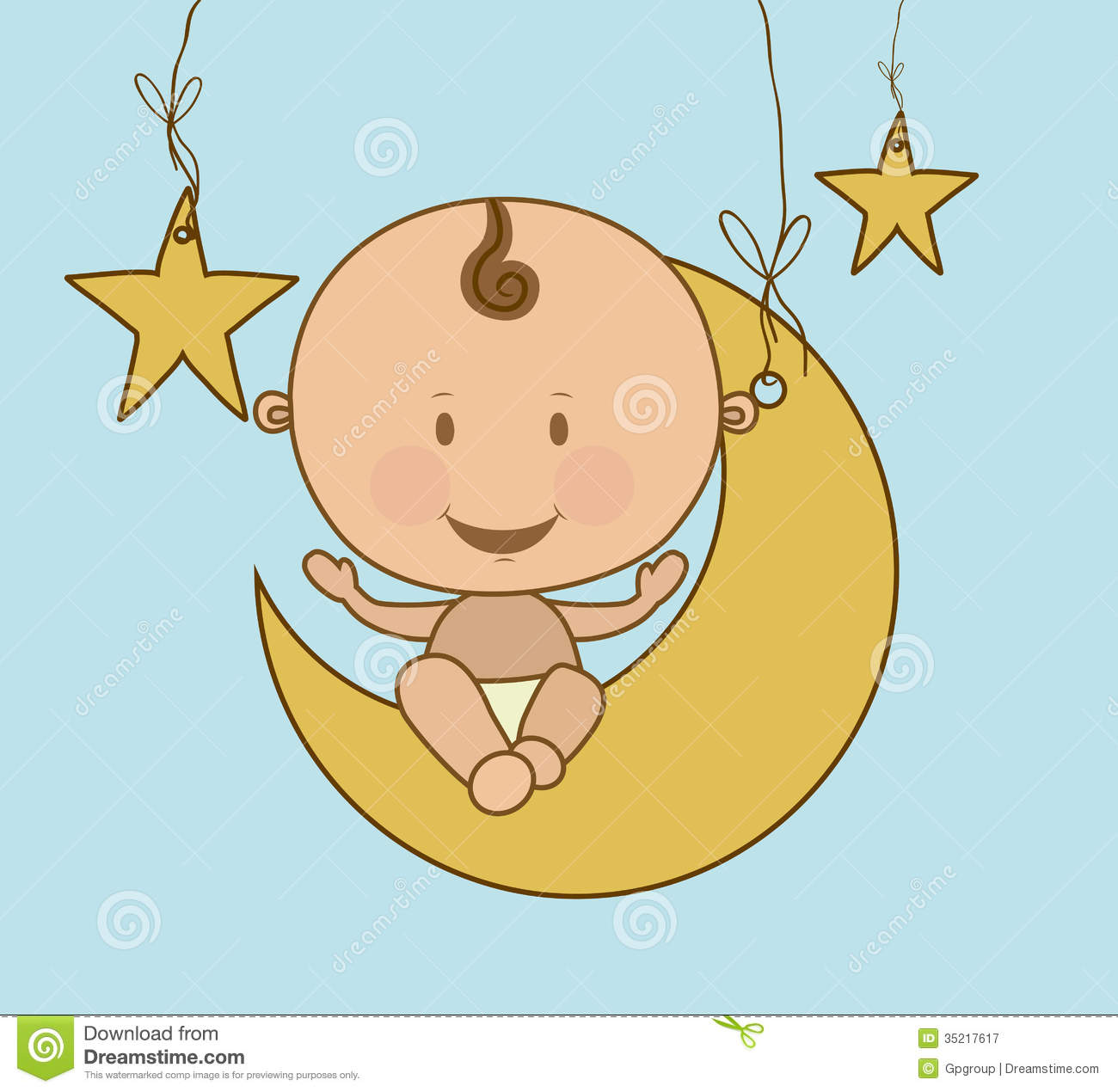 Baby Arrival Royalty Free Stock Photography - Image: 35217617