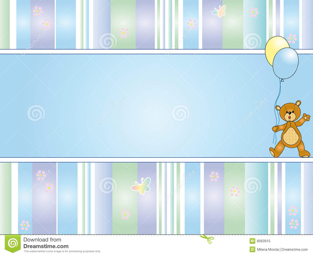 Baby background stock illustration image of gift happy - Baby background ...