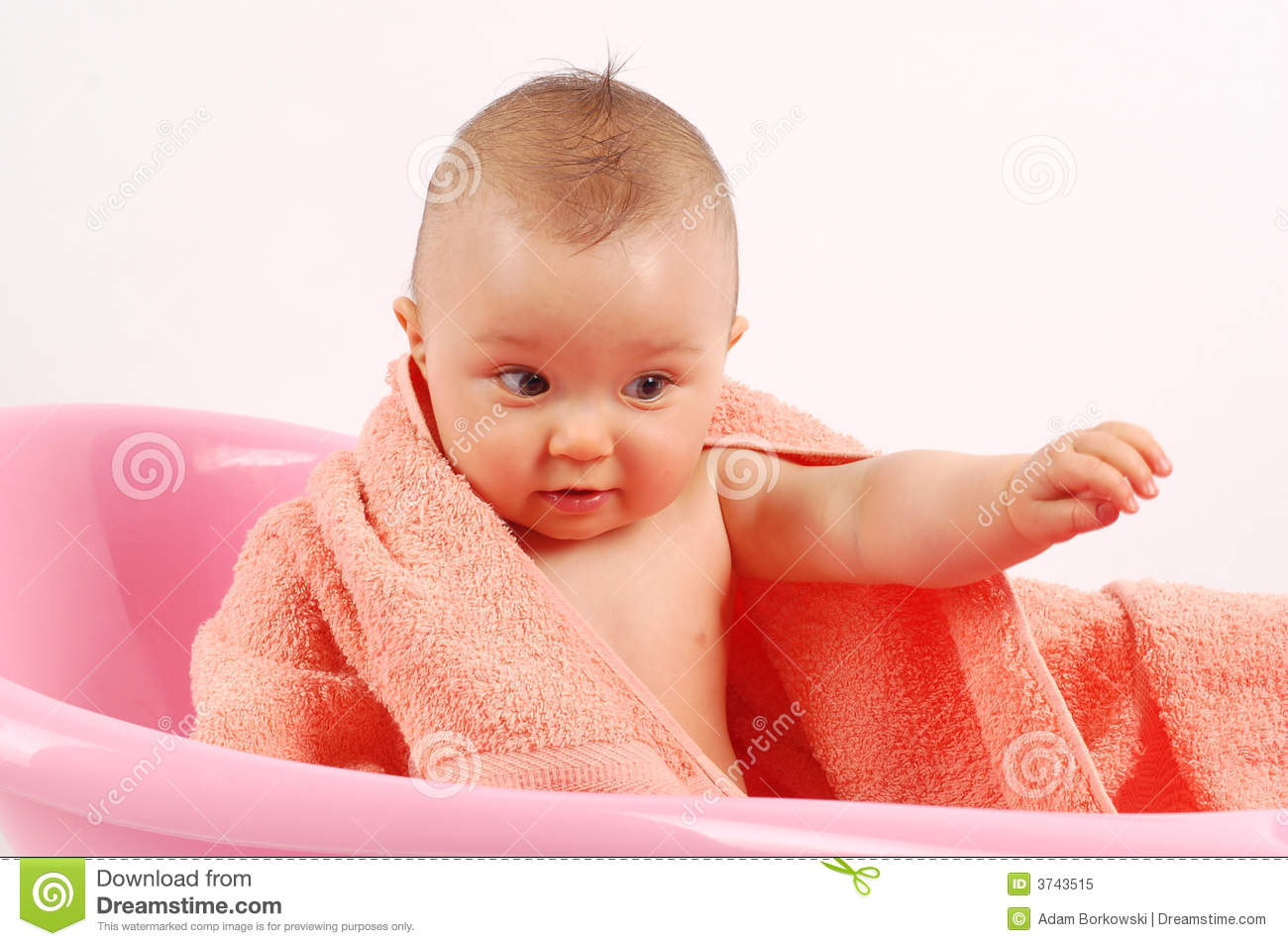 Baby Bath 16 Royalty Free Stock Photo Image 3743515