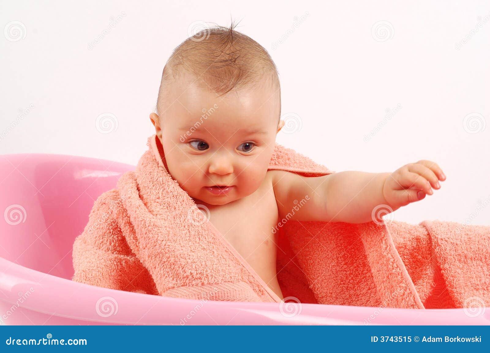 baby bath 16 royalty free stock photo image 3743515. Black Bedroom Furniture Sets. Home Design Ideas