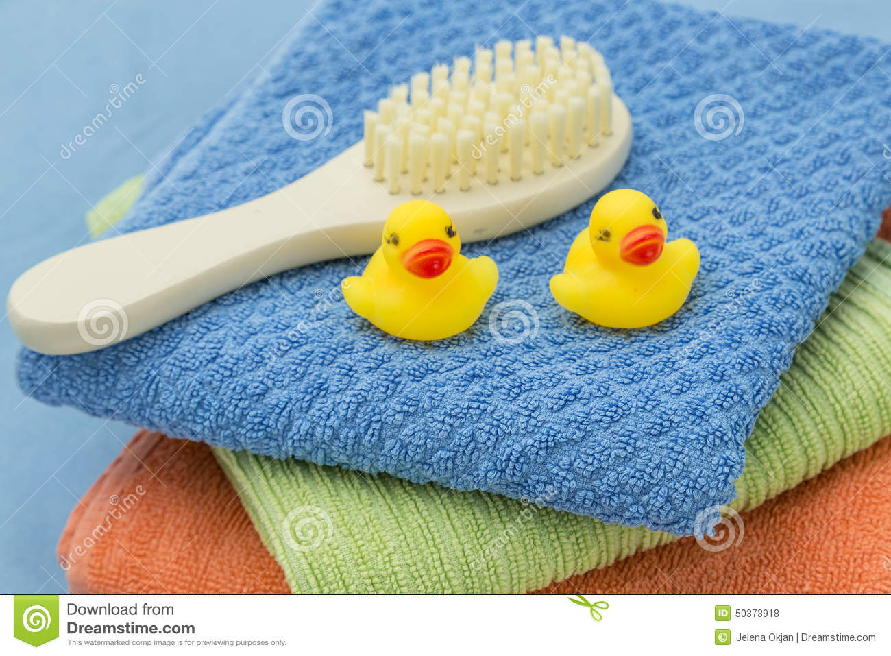Baby bath accessories stock photo. Image of juvenile - 50373918