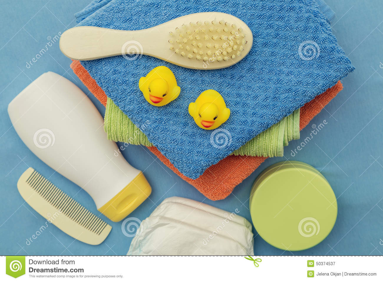 baby bath accessories stock photo image 50374537
