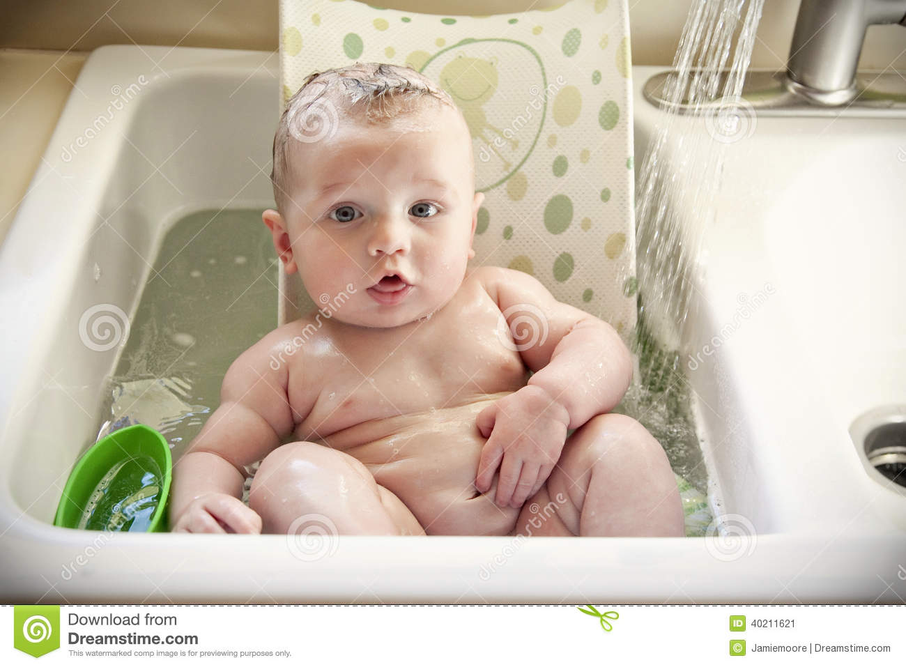 Superb Royalty Free Stock Photo. Download Baby Bath Sink ...