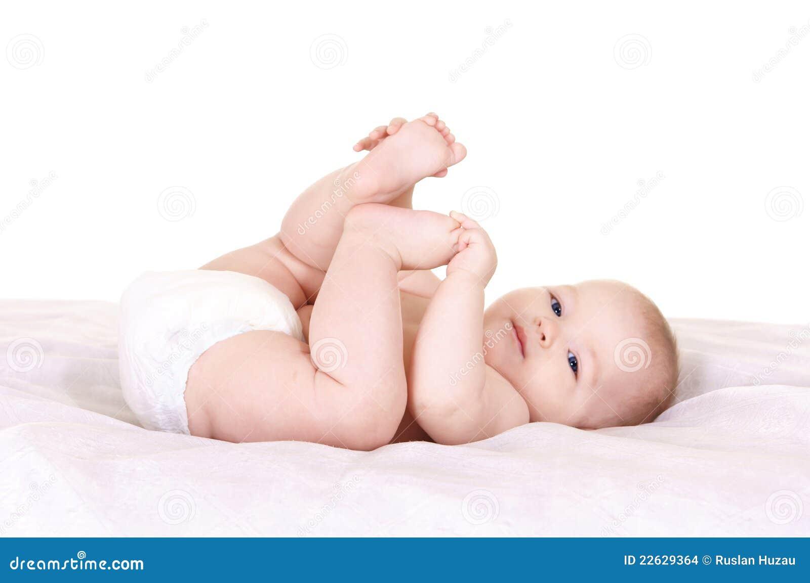 Genial Baby At Bed