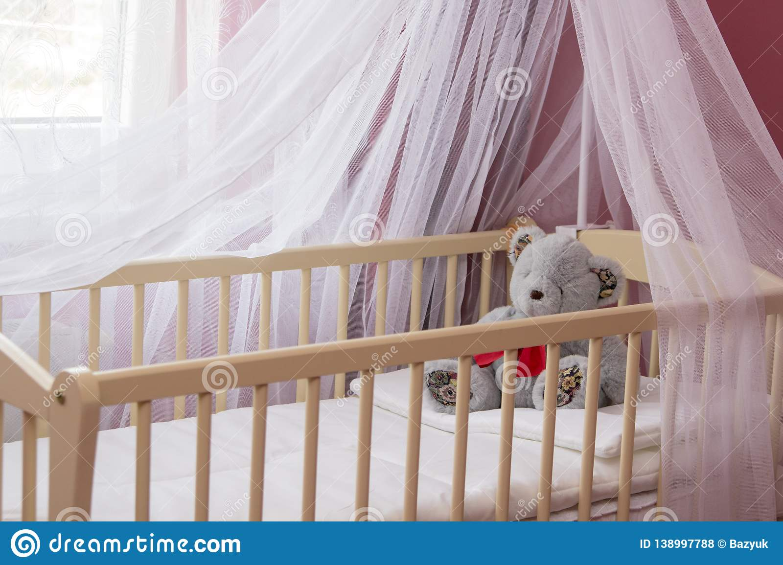 Baby cot baby bed with canopy & Baby Bed With Canopybedroom For The Baby Cradle With A Canopy ...