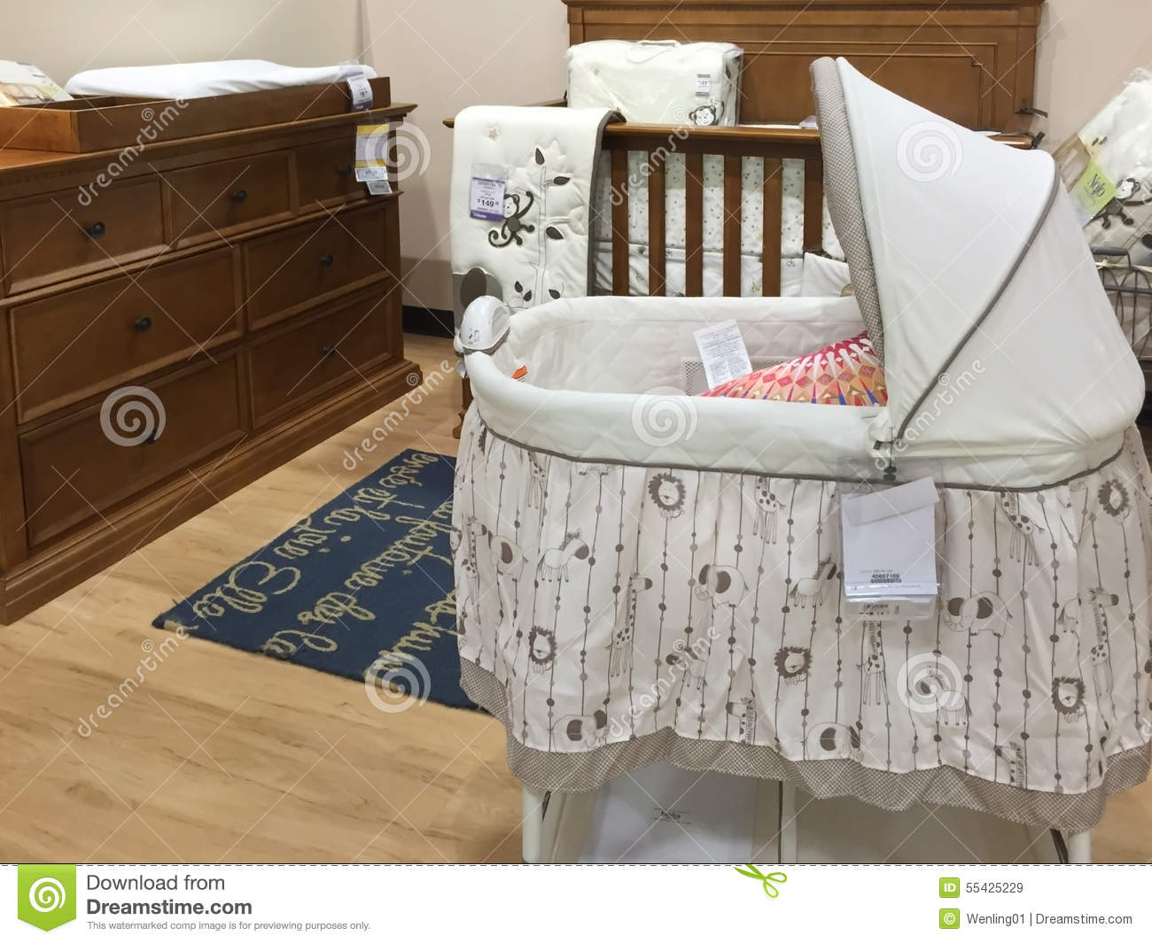 Selling Bedroom Furniture Baby Bedroom Furniture Selling At Market Editorial Stock Image