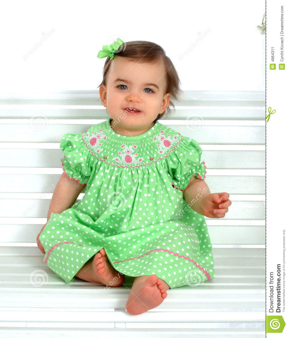 Baby on Bench