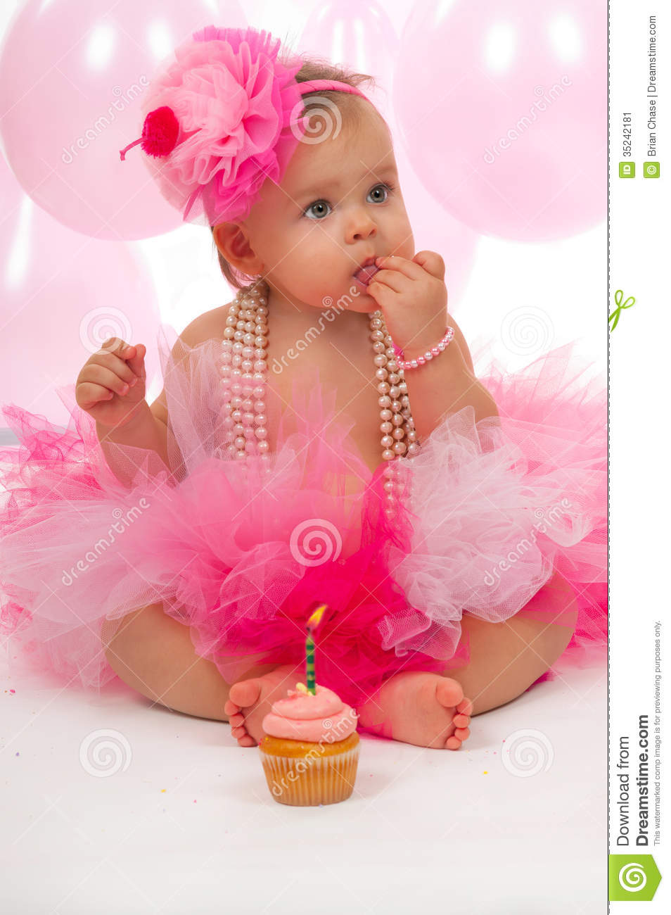 Baby Stock Image Image Of Childhood Jewelry Band Pink