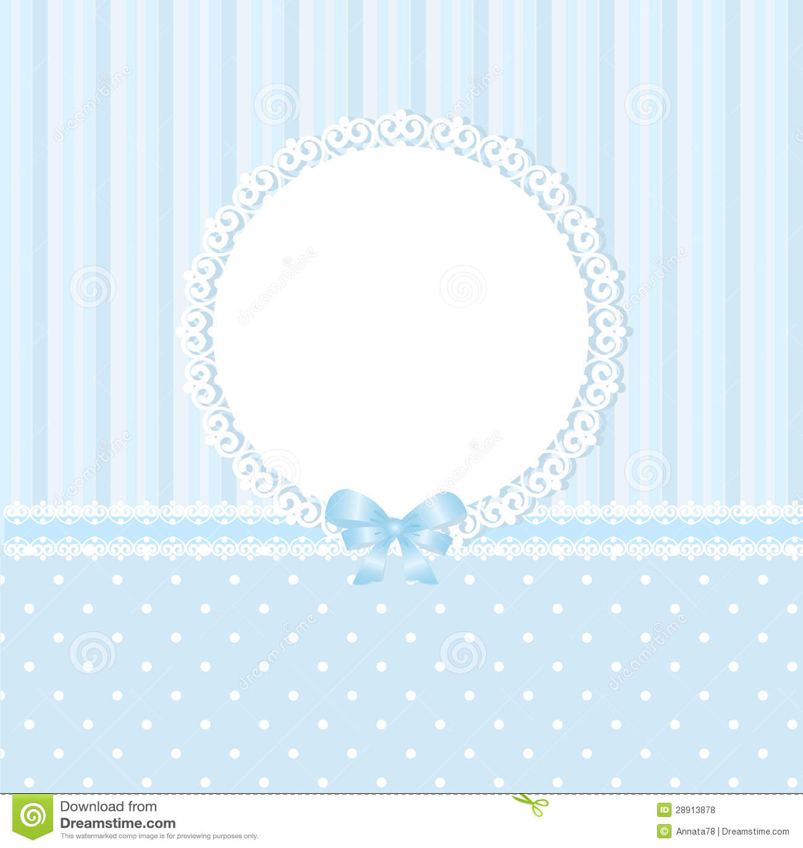 Baby Blue Background Stock Vector Illustration Of Polka