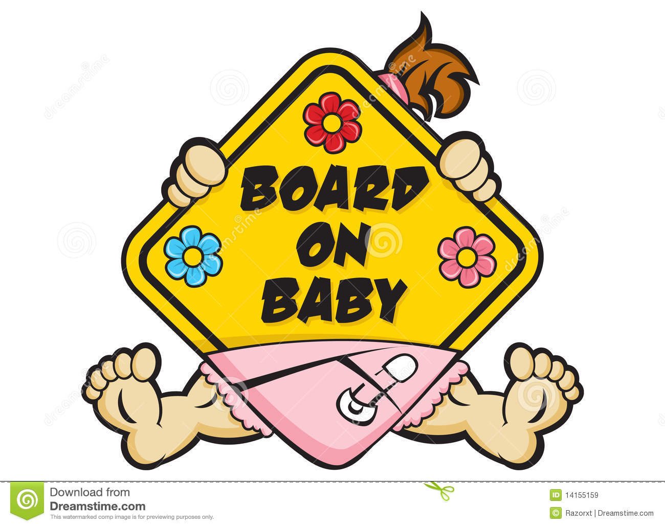 clipart baby on board - photo #15