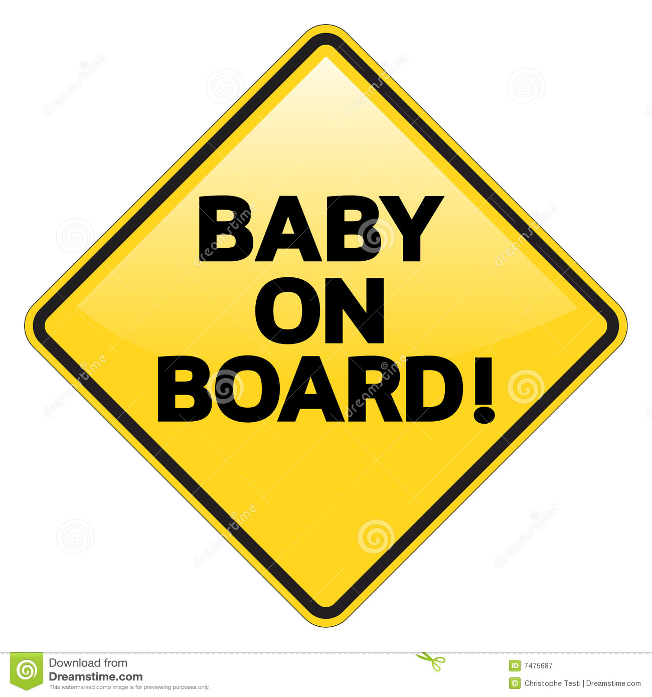 clipart baby on board - photo #25