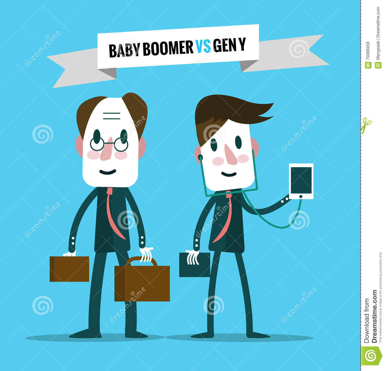 Character Design Artist Resource : Baby boomers vs generation y business human resource