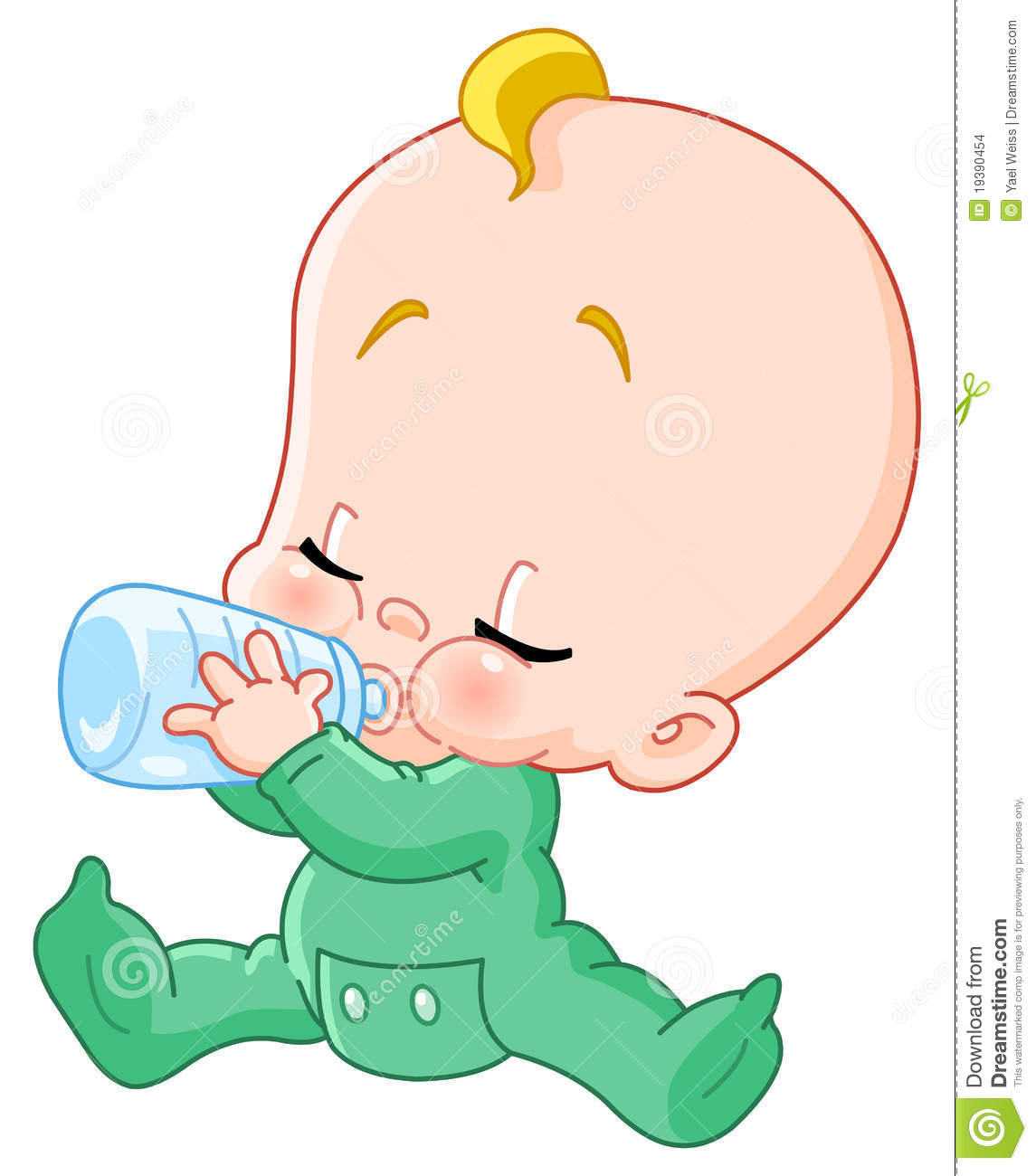 More similar stock images of ` Baby with bottle `