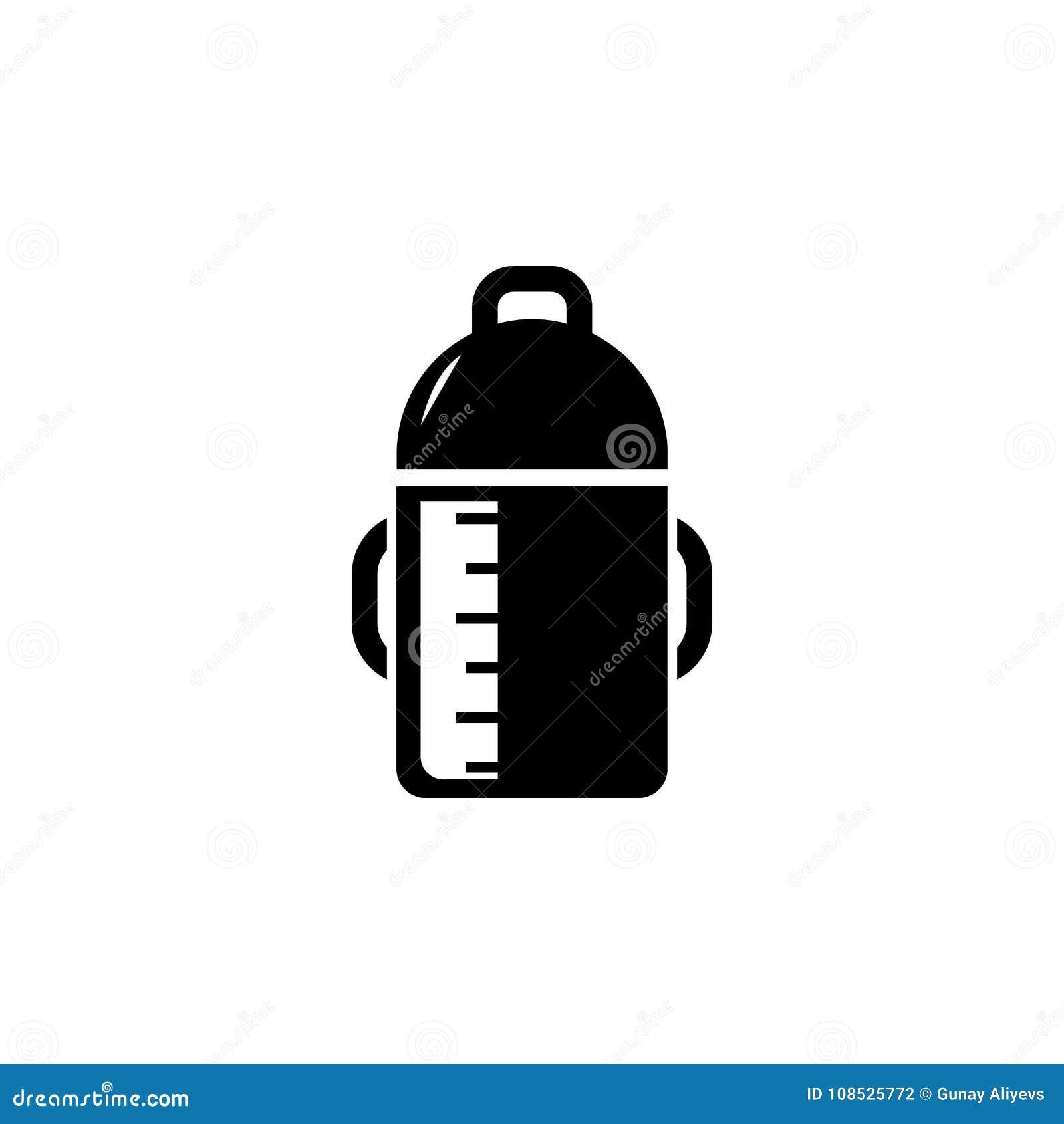 Baby Bottle Icon Baby Element Icon Premium Quality Graphic Design