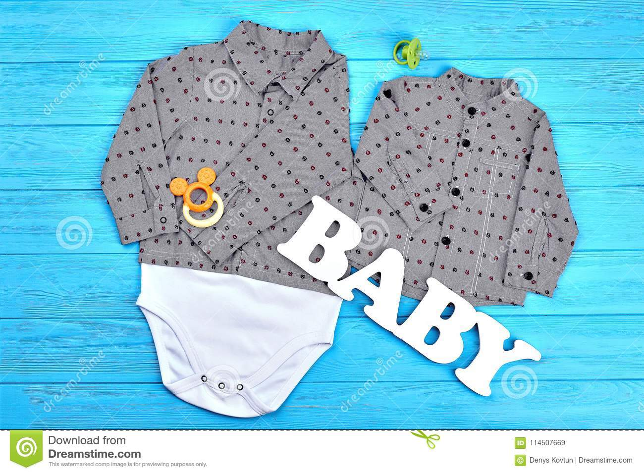 f3c51f98c3f2 Baby-boy Adorable Cotton Garment. Stock Image - Image of background ...