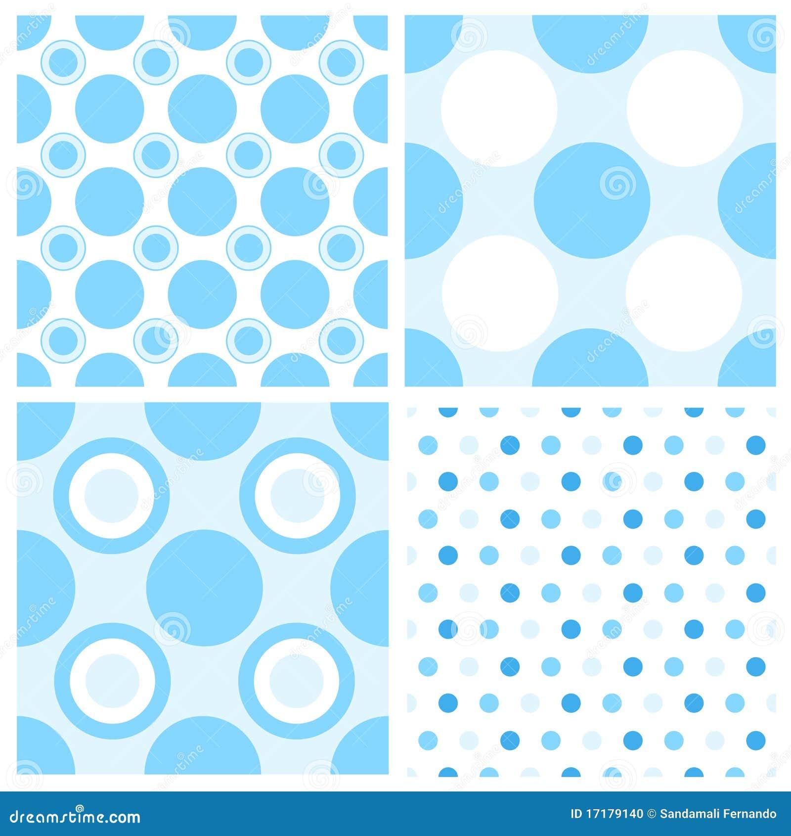 Baby Boy Polka Dot Backgrounds