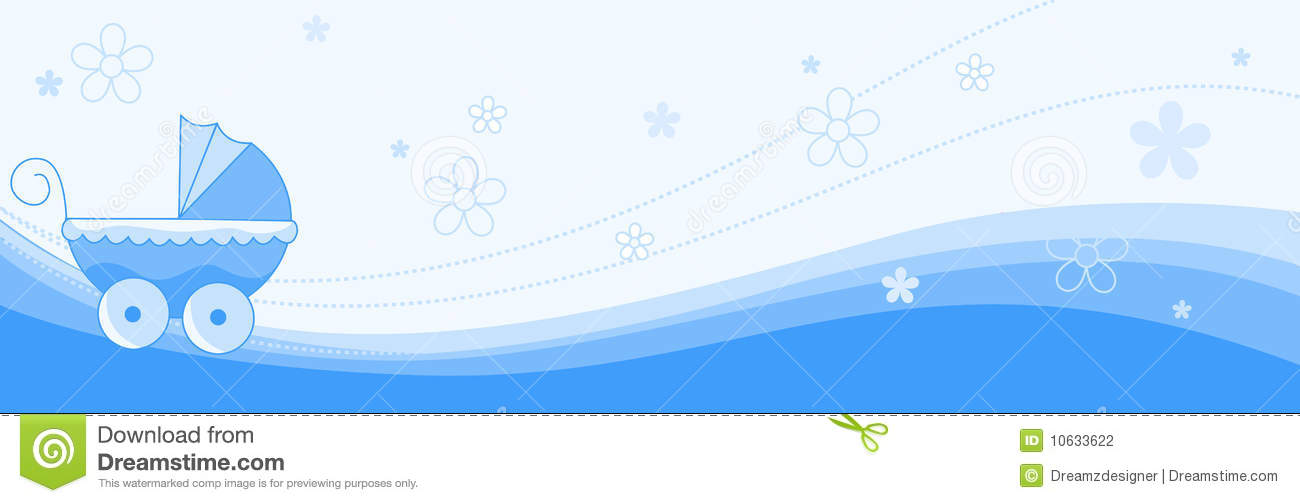 Baby Boy Banner Header Stock Photography Image 10633622