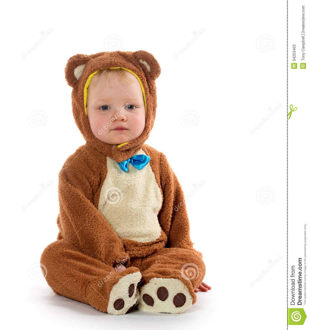 Download Baby boy in bear costume stock image. Image of halloween - 34253403  sc 1 st  Dreamstime.com & Baby boy in bear costume stock image. Image of halloween - 34253403