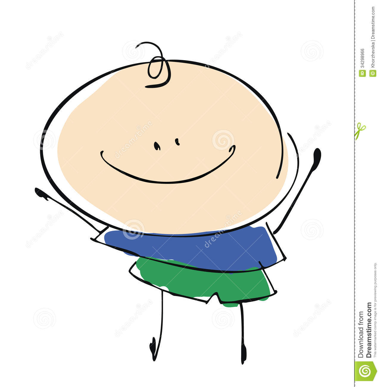 baby boy child happy smiling cartoon - Cartoon Picture Of Child